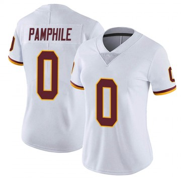 Women's Nike Washington Redskins Kevin Pamphile White Vapor Untouchable Jersey - Limited
