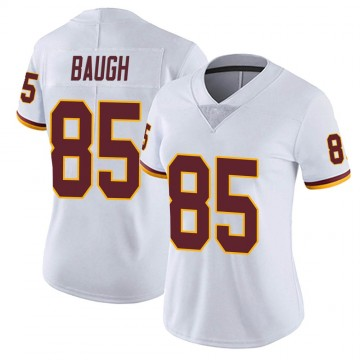 Women's Nike Washington Redskins Marcus Baugh White Vapor Untouchable Jersey - Limited