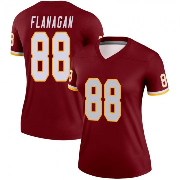 Women's Nike Washington Redskins Matt Flanagan Burgundy Jersey - Legend