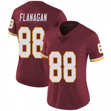 Women's Nike Washington Redskins Matt Flanagan Burgundy Team Color Vapor Untouchable Jersey - Limited