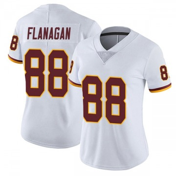 Women's Nike Washington Redskins Matt Flanagan White Vapor Untouchable Jersey - Limited