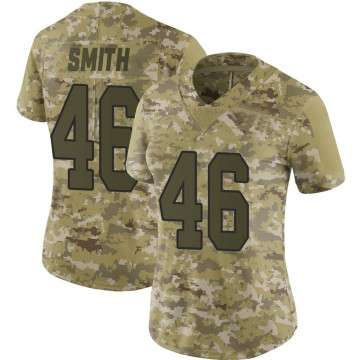 Women's Nike Washington Redskins Maurice Smith Camo 2018 Salute to Service Jersey - Limited