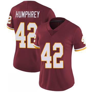 Women's Nike Washington Redskins Myles Humphrey Burgundy 100th Vapor Jersey - Limited