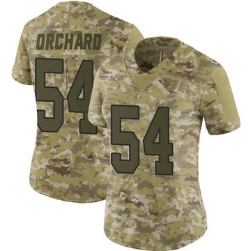 Women's Nike Washington Redskins Nate Orchard Camo 2018 Salute to Service Jersey - Limited