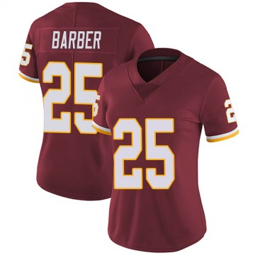 Women's Nike Washington Redskins Peyton Barber Burgundy Team Color Vapor Untouchable Jersey - Limited
