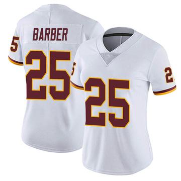 Women's Nike Washington Redskins Peyton Barber White Vapor Untouchable Jersey - Limited