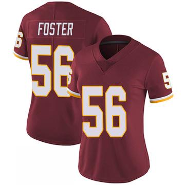 Women's Nike Washington Redskins Reuben Foster Burgundy 100th Vapor Jersey - Limited