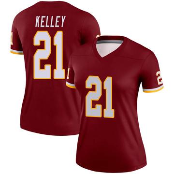 Women's Nike Washington Redskins Rob Kelley Burgundy Jersey - Legend