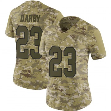 Women's Nike Washington Redskins Ronald Darby Camo 2018 Salute to Service Jersey - Limited