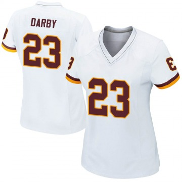 Women's Nike Washington Redskins Ronald Darby White Jersey - Game