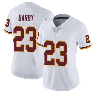 Women's Nike Washington Redskins Ronald Darby White Vapor Untouchable Jersey - Limited