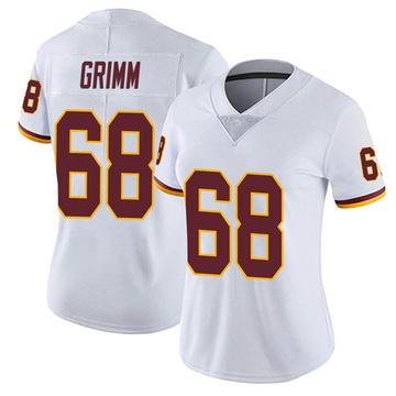 Women's Nike Washington Redskins Russ Grimm White Vapor Untouchable Jersey - Limited