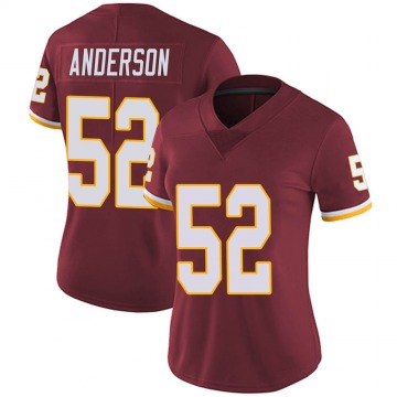 Women's Nike Washington Redskins Ryan Anderson Burgundy Team Color Vapor Untouchable Jersey - Limited