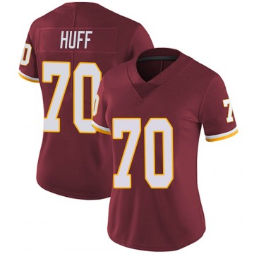 Women's Nike Washington Redskins Sam Huff Burgundy Team Color Vapor Untouchable Jersey - Limited