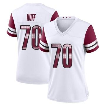 Women's Nike Washington Redskins Sam Huff White Jersey - Game