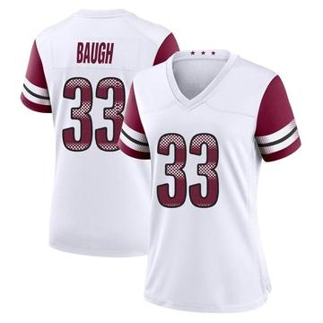 Women's Nike Washington Redskins Sammy Baugh White Jersey - Game