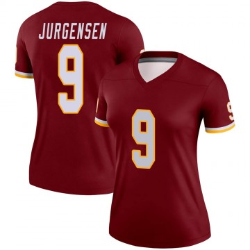 Women's Nike Washington Redskins Sonny Jurgensen Burgundy Jersey - Legend