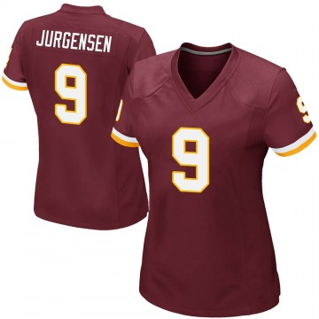 Women's Nike Washington Redskins Sonny Jurgensen Burgundy Team Color Jersey - Game