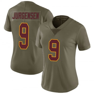 Women's Nike Washington Redskins Sonny Jurgensen Green 2017 Salute to Service Jersey - Limited