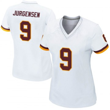 Women's Nike Washington Redskins Sonny Jurgensen White Jersey - Game
