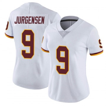 Women's Nike Washington Redskins Sonny Jurgensen White Vapor Untouchable Jersey - Limited