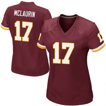 Women's Nike Washington Redskins Terry McLaurin Burgundy Team Color Jersey - Game