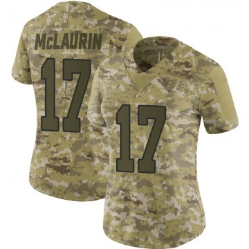 Women's Nike Washington Redskins Terry McLaurin Camo 2018 Salute to Service Jersey - Limited