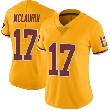 Women's Nike Washington Redskins Terry McLaurin Gold Color Rush Jersey - Limited