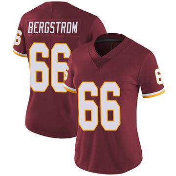 Women's Nike Washington Redskins Tony Bergstrom Burgundy Team Color Vapor Untouchable Jersey - Limited