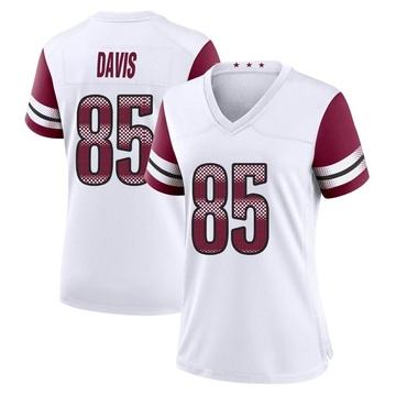 Women's Nike Washington Redskins Vernon Davis White Jersey - Game