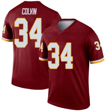 Youth Nike Washington Redskins Aaron Colvin Burgundy Jersey - Legend