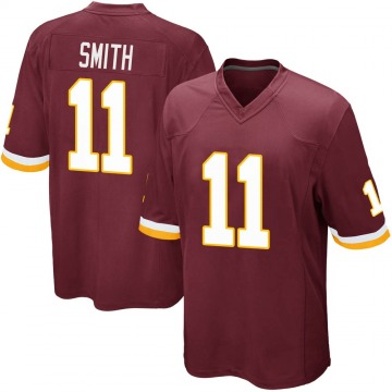 Youth Nike Washington Redskins Alex Smith Burgundy Team Color Jersey - Game