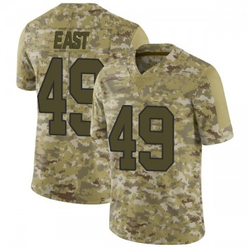 Youth Nike Washington Redskins Andrew East Camo 2018 Salute to Service Jersey - Limited