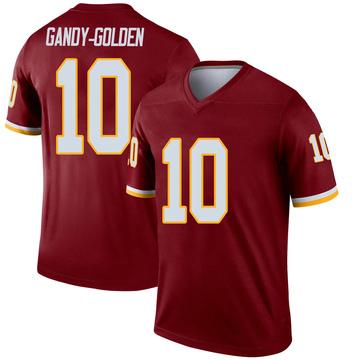 Youth Nike Washington Redskins Antonio Gandy-Golden Gold Burgundy Jersey - Legend