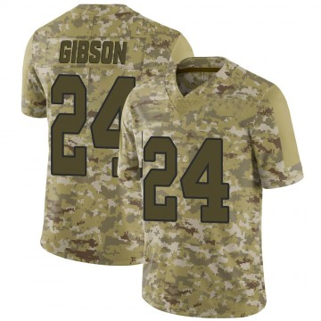 Youth Nike Washington Redskins Antonio Gibson Camo 2018 Salute to Service Jersey - Limited