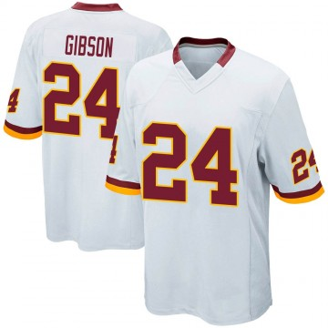 Youth Nike Washington Redskins Antonio Gibson White Jersey - Game