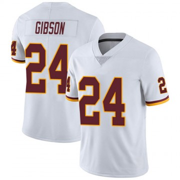 Youth Nike Washington Redskins Antonio Gibson White Vapor Untouchable Jersey - Limited