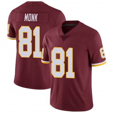 Youth Nike Washington Redskins Art Monk Burgundy Team Color Vapor Untouchable Jersey - Limited