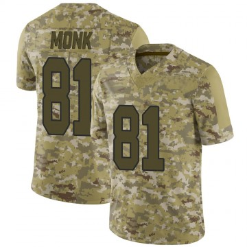 Youth Nike Washington Redskins Art Monk Camo 2018 Salute to Service Jersey - Limited