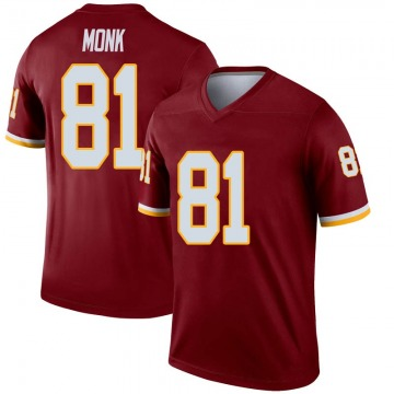 Youth Nike Washington Redskins Art Monk Inverted Burgundy Jersey - Legend