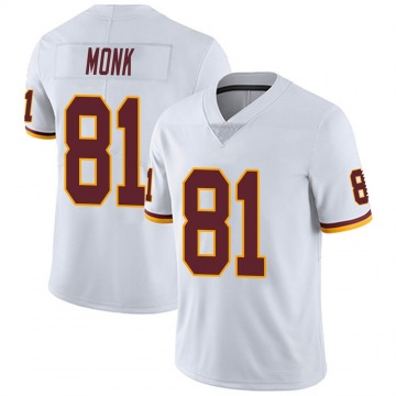 Youth Nike Washington Redskins Art Monk White Vapor Untouchable Jersey - Limited