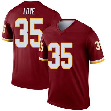 Youth Nike Washington Redskins Bryce Love Burgundy Jersey - Legend