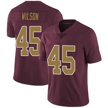 Youth Nike Washington Redskins Caleb Wilson Burgundy Alternate Vapor Untouchable Jersey - Limited