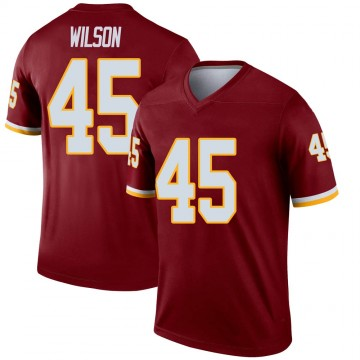Youth Nike Washington Redskins Caleb Wilson Burgundy Jersey - Legend