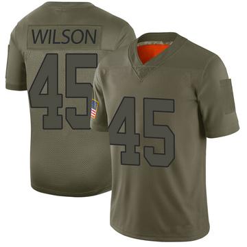 Youth Nike Washington Redskins Caleb Wilson Camo 2019 Salute to Service Jersey - Limited