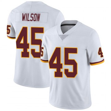 Youth Nike Washington Redskins Caleb Wilson White Vapor Untouchable Jersey - Limited