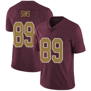 Youth Nike Washington Redskins Cam Sims Burgundy Alternate Vapor Untouchable Jersey - Limited