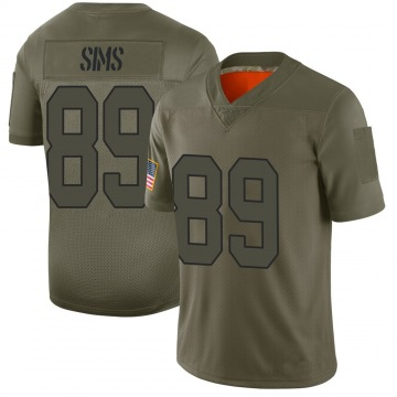 Youth Nike Washington Redskins Cam Sims Camo 2019 Salute to Service Jersey - Limited