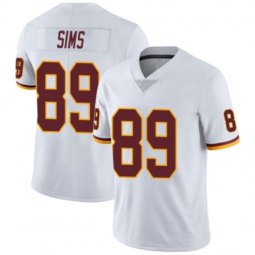 Youth Nike Washington Redskins Cam Sims White Vapor Untouchable Jersey - Limited