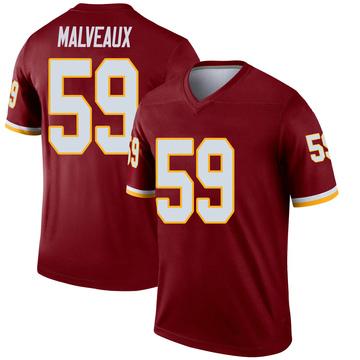Youth Nike Washington Redskins Cameron Malveaux Burgundy Jersey - Legend
